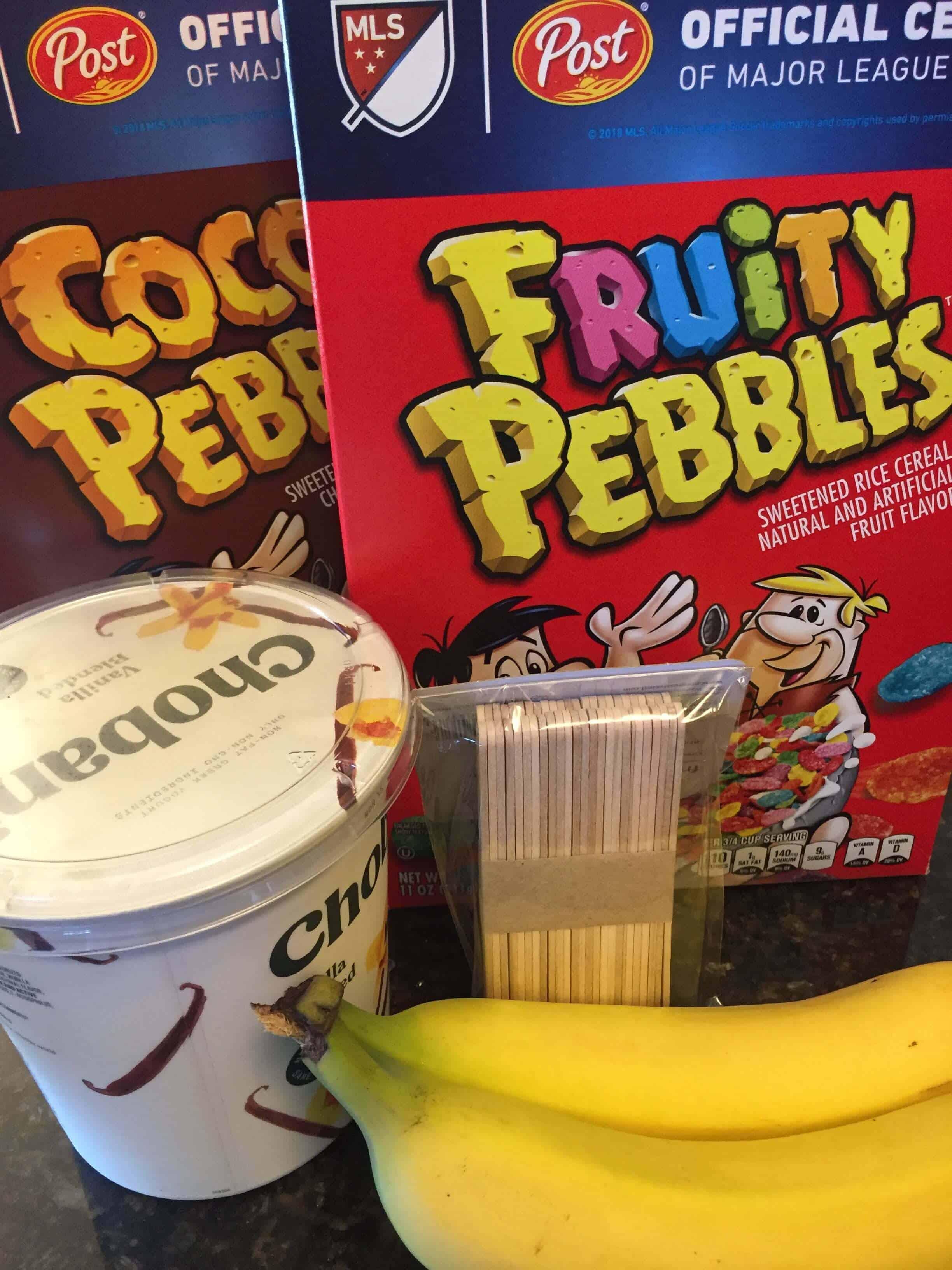 frozen banana pops recipe Easy recipe for kids to make