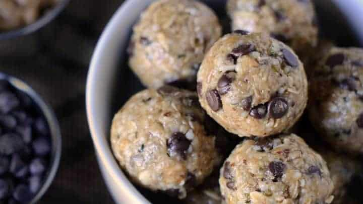 No bake energy bites kids can make themselves