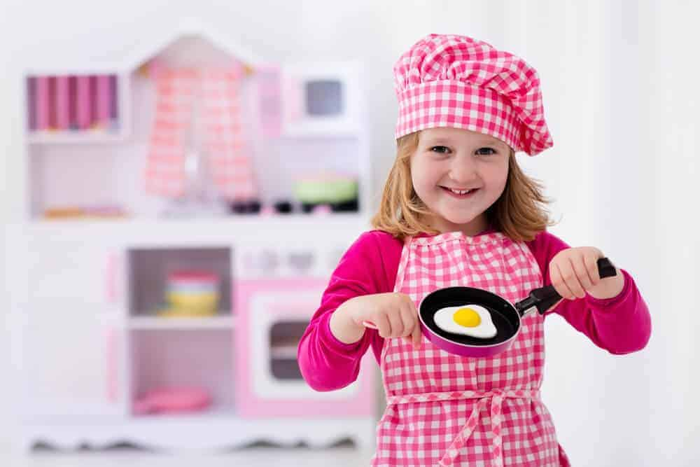Teaching kids to cook. Pass down a love of cooking