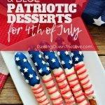 Patriotic red, white, & blue desserts