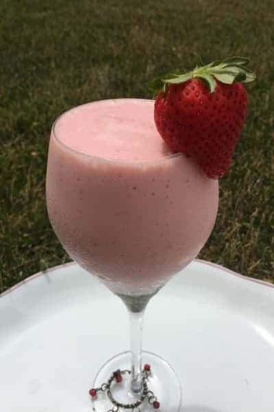 Strawberry Lime Smoothie Recipe.  An Easy Recipe for Kids to Make.