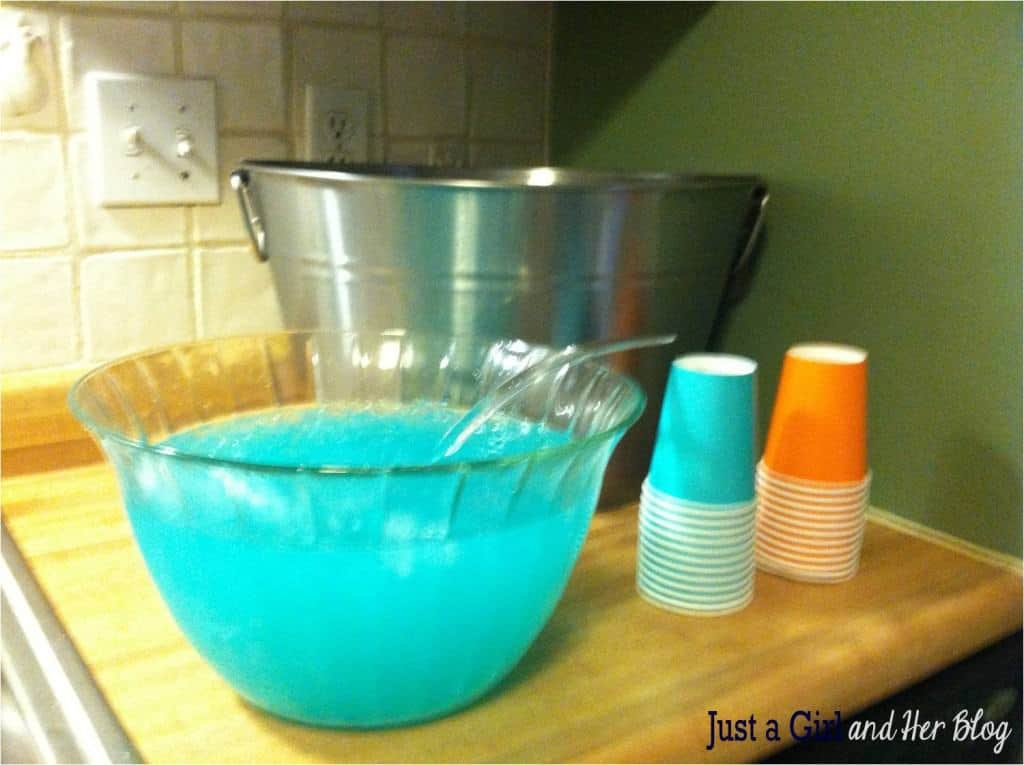 Pink And Blue Baby Shower Punch Recipes
