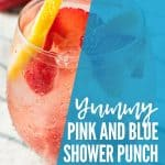 Pink and Blue Shower Punch