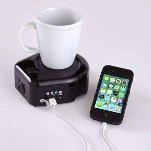 Mug Warmer Phone Charger Combo