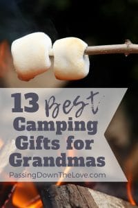 Camping Gifts for Grandmas