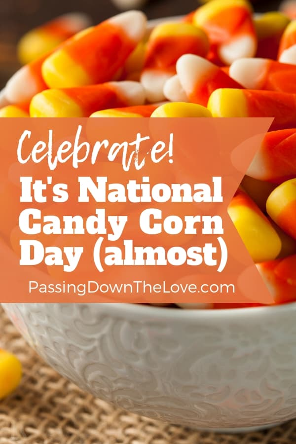 National Candy Corn Day calls for a special celebration.  Mix up a delicious snack with these yummy morsels!  (recipes inside)