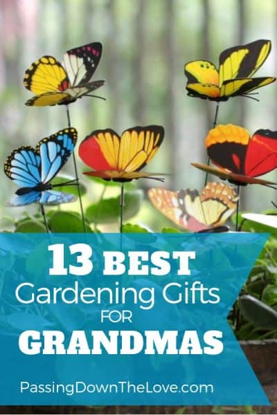 13 Best Gardening Gifts for Grandma
