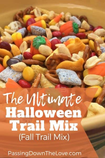 The Ultimate Halloween Trail Mix