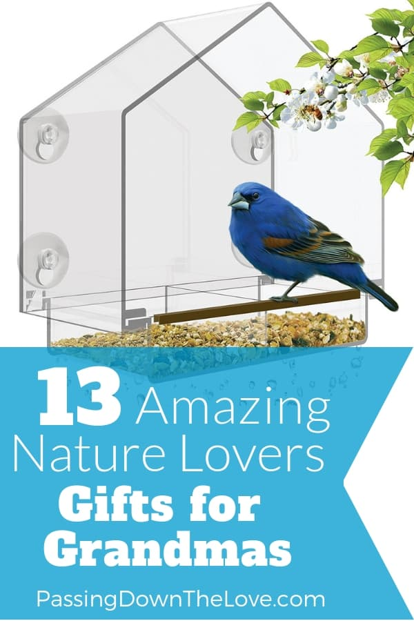 You can't go wrong with a Nature Gift for Grandma. Special gifts for the nature lover!