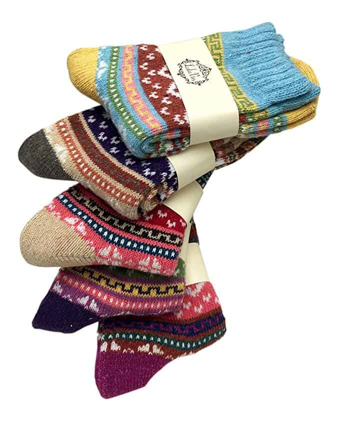 Camping Gifts for Grandmas: Camping Socks