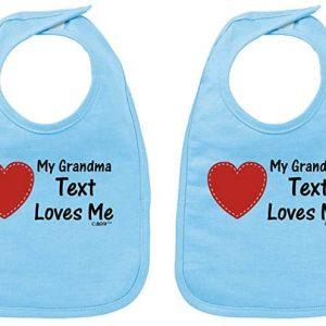 My Grandma Bib Set