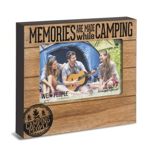 Camping gifts for Grandma: camping photo frame
