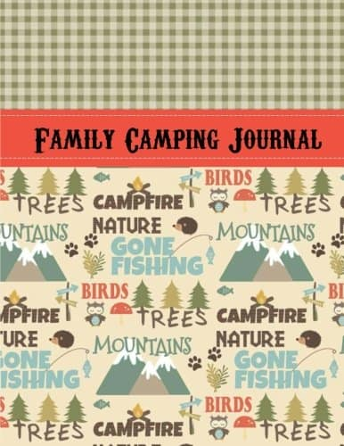 Camping Gifts for Grandmas: Camping Journal