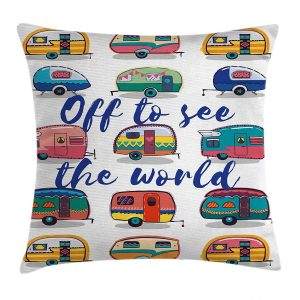 Camping Gifts for Grandmas: Camping Pillow Cover