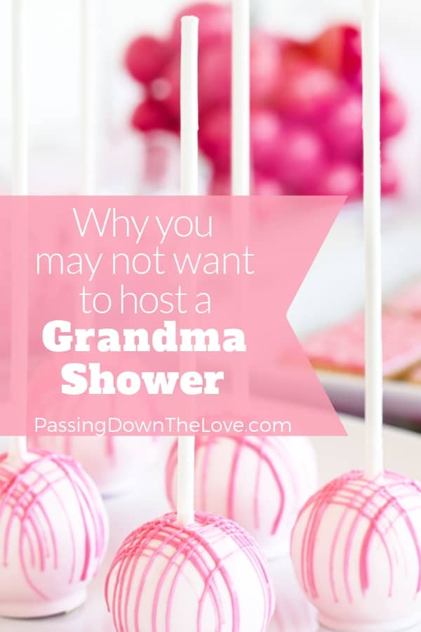 The Grandma Shower Trend