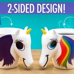 Unicorn color-changing mug