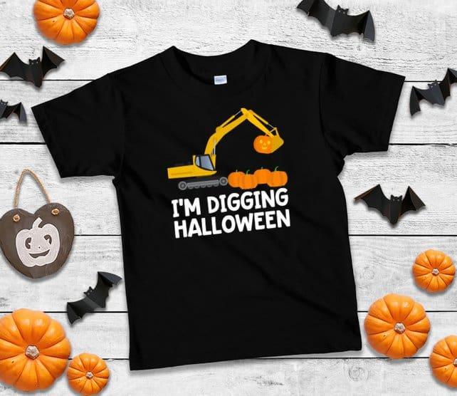 Boys Halloween Shirt