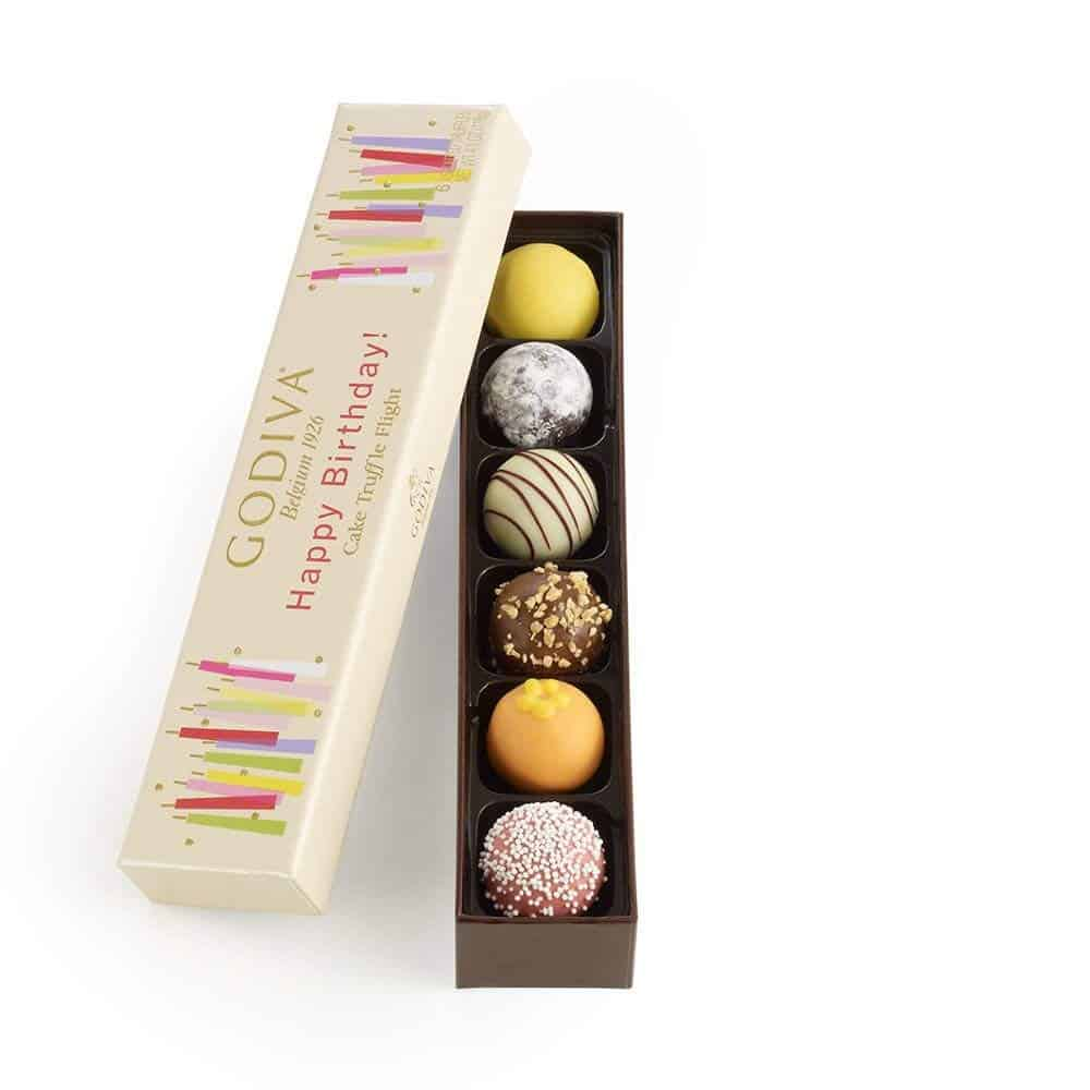 Happy 60th Birthday Godiva Chocolates