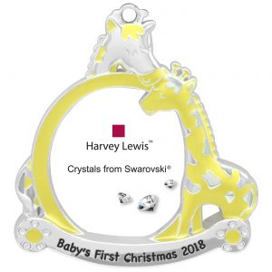 Swarovski First Christmas Ornament