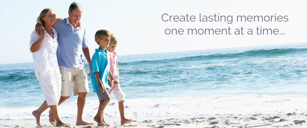 Create lasting memories one moment at a time.