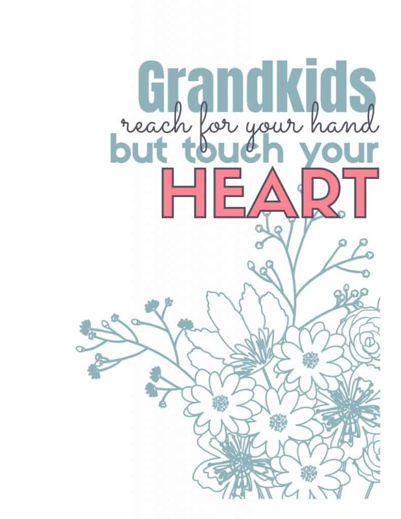 Grandkids touch your heart