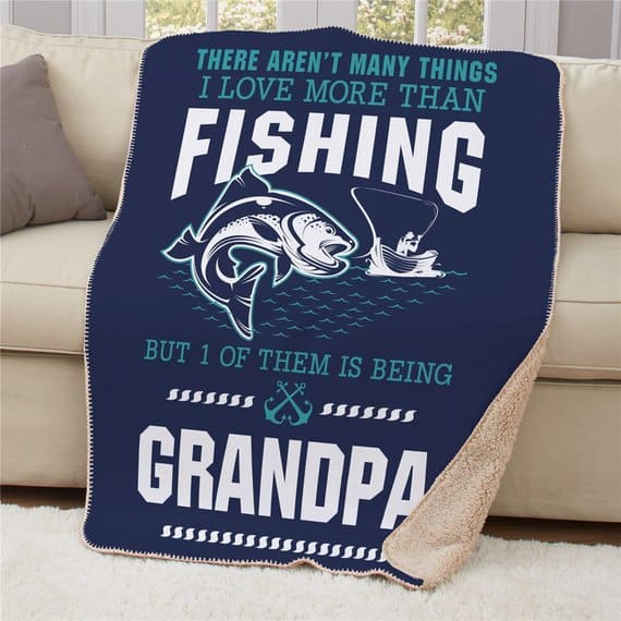 Sherpa Fishing Blanket