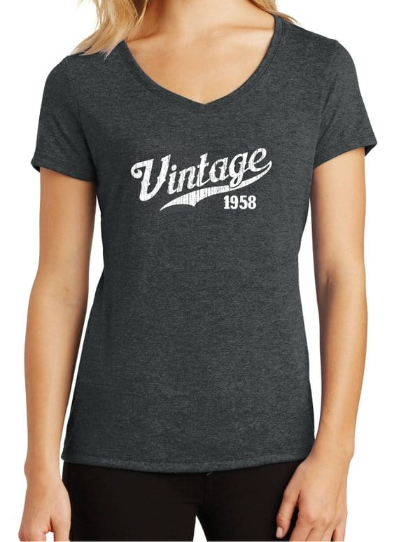 Celebrate turning 60 years old with this vintage T-shirt. She'll love this!
