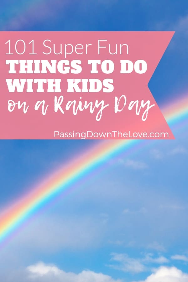Rainy Day Games And Indoor Fun Activities For Kids At Home