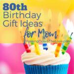 cupcake 80th birthday pin