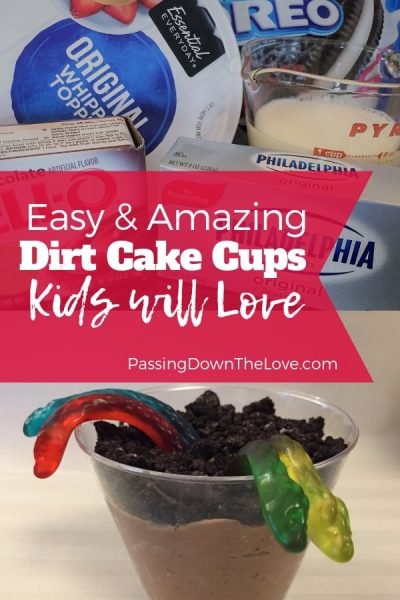 Dirt Cake Cups recipe for kids