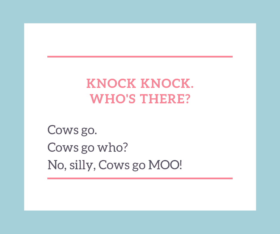 Knock Knock Cow Joke