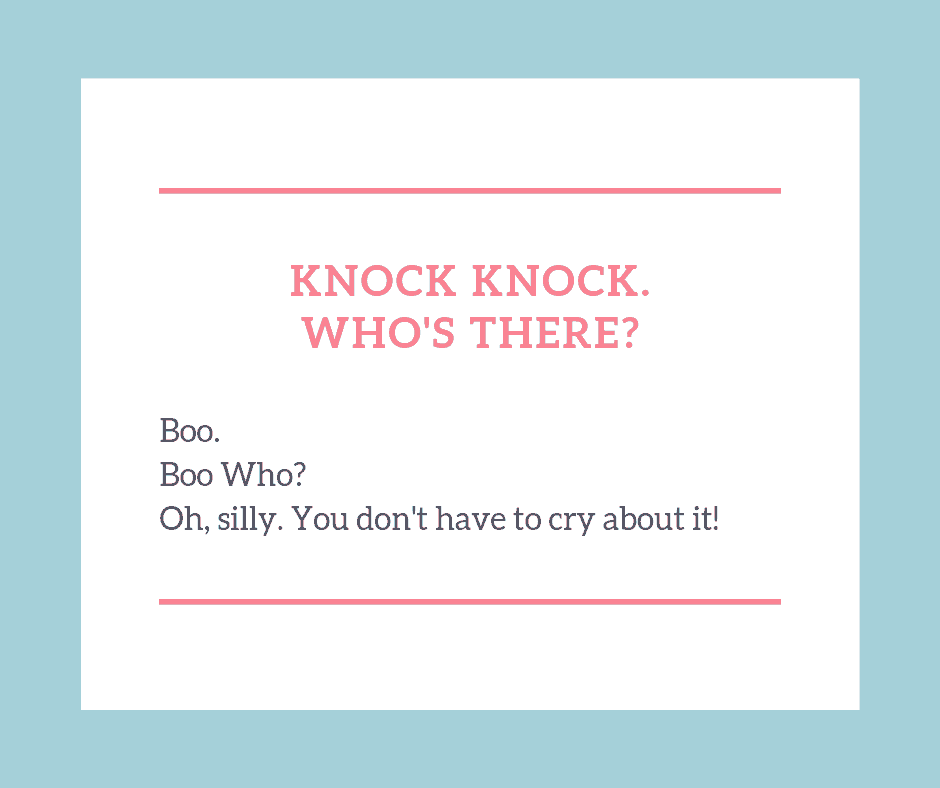 Knock knock jokes for kids Boo