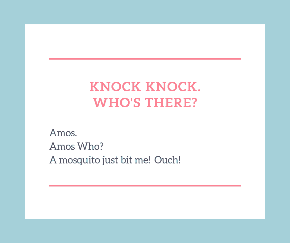 Knock knock jokes for kids amos