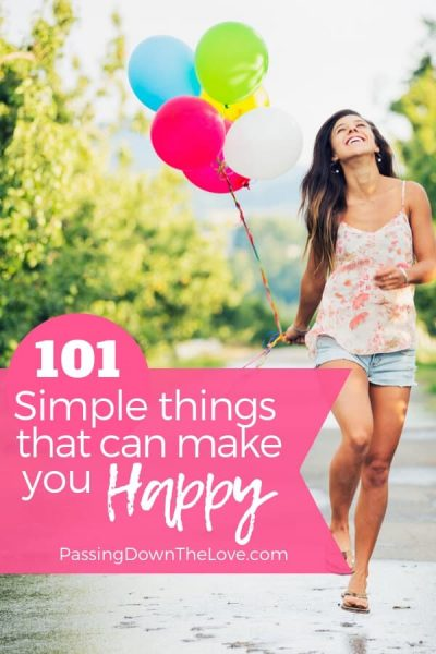 Things that make me Happy pin