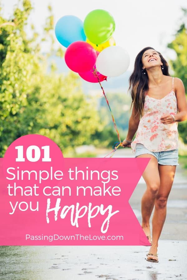 Things that make me Happy pin