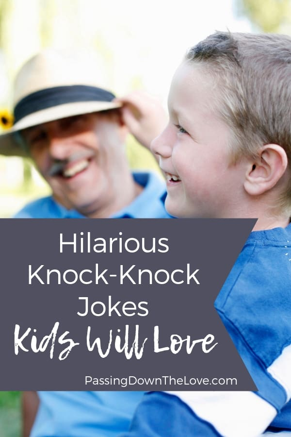 Hilarious Knock-knock jokes for kids