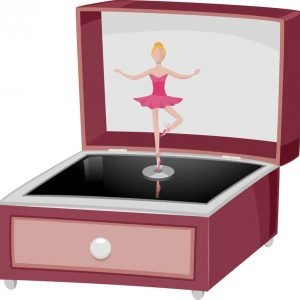 Music Box with a Dancing Ballerina