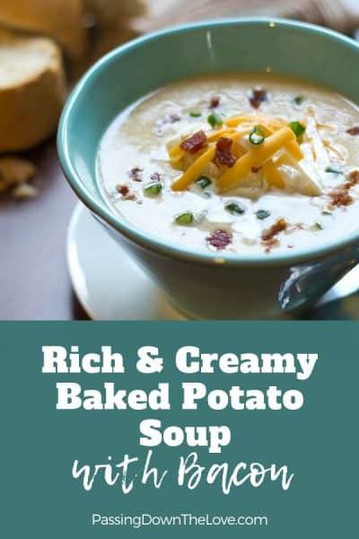 Rene's Baked potato soup