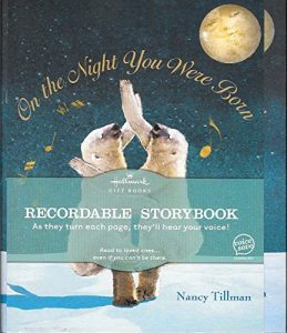 On the Night you were born storybook