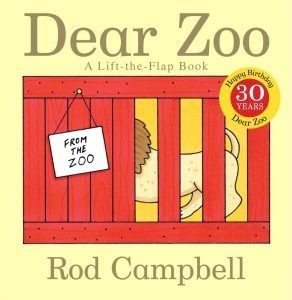 Best Books for baby shower Dear Zoo