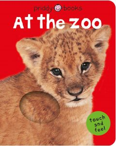 At the Zoo Flap Book for baby shower gift
