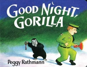 Good Night Gorilla for bring a book shower