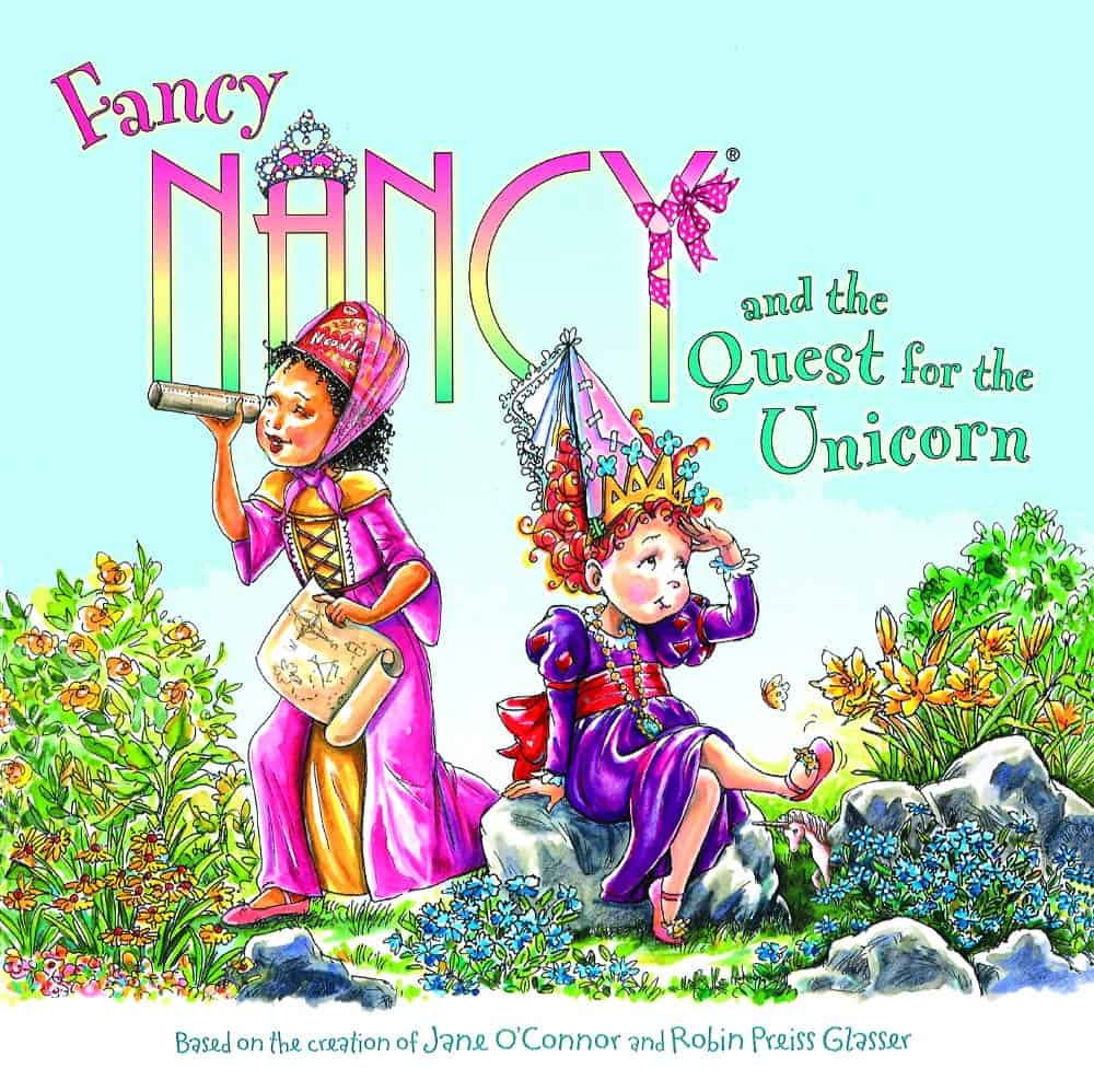 fancy nancy unicorn book