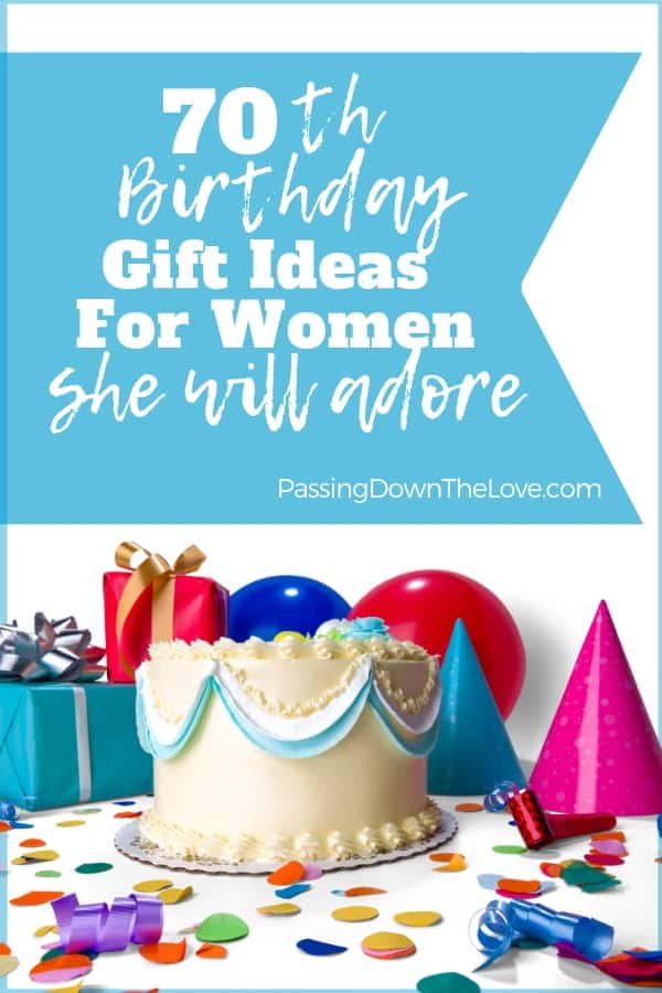 The Best 70th Birthday Gift Ideas For Her