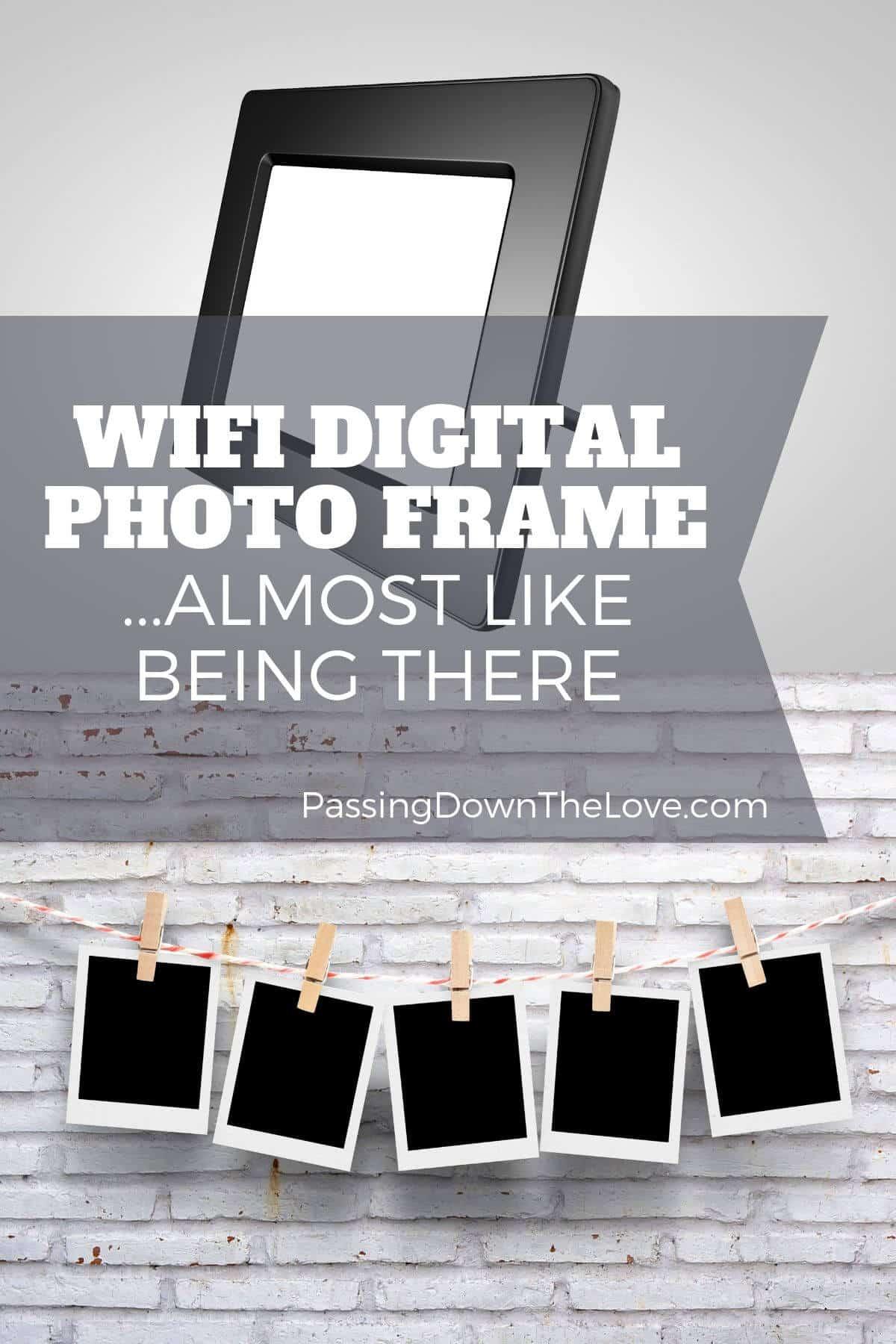 Digital photo PIN