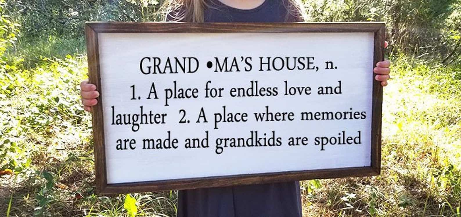 Grnadma's House Wooden Sign