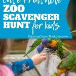 zoo scavenger hunt free printable