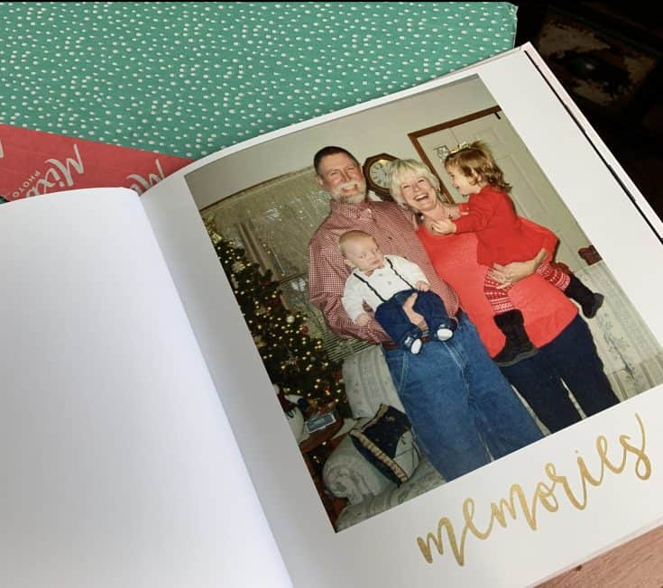 Mixbook Photo Book page