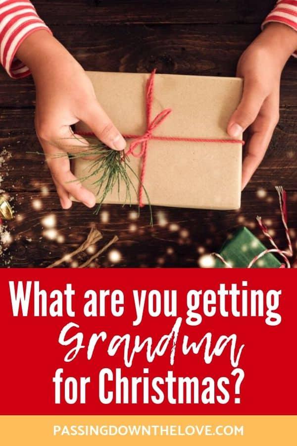 Christmas for Grandmas