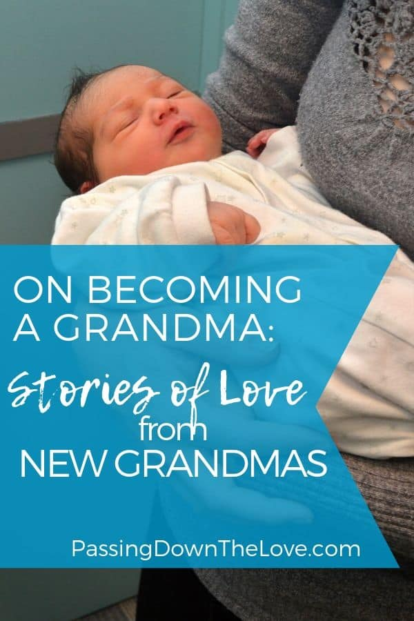 becoming a grandmother for the first time